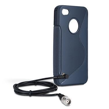 Kit Adaptador para iPhone 4/S, Aquario, Capa Flexível, Preta
