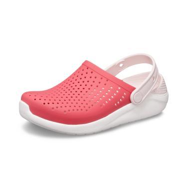 Sandália Crocs LiteRide Kids ™ Rosa/Branco  menina