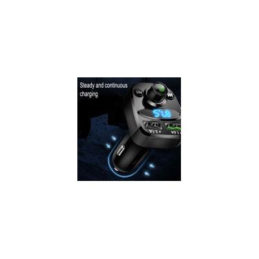 Player bluetooth para carro Carregador Veicular 2 usbsom automotivo