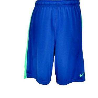 Bermuda Nike Tecido Tecido Mole Tamanho:M;Cor:azul verde