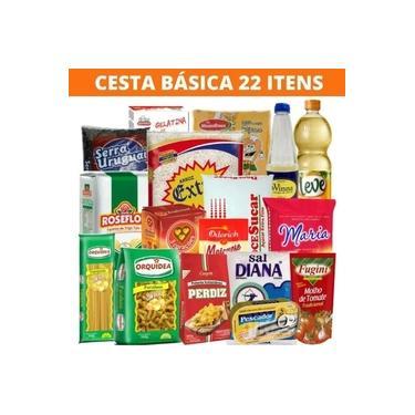 Cesta Básica De Alimentos - 22 Itens