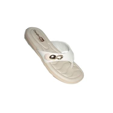 Chinelo Feminino Ramarim Comfortflex Branco 20-80402