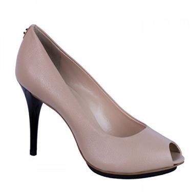Sapato Peep Toe Feminino Jorge Bischoff Verniz J30027030a06