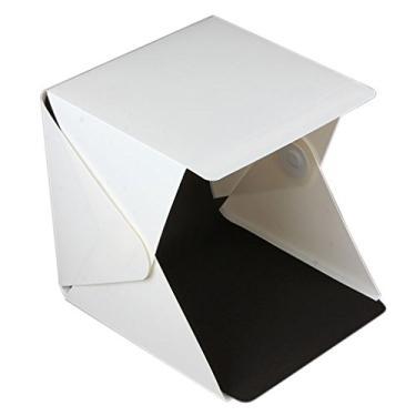 """Imagem de MERIGLARE Mini Light Room Photo Studio 9""""/ 23 Cm Tenda de Iluminação Fotográfica Caixa de Pano de Fundo"""