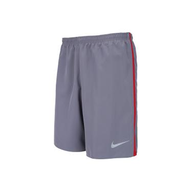 ab7da4d63e Bermuda Nike Dry 7IN Core - Masculina - CINZA ESC VERMELHO Nike