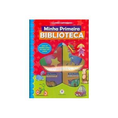 Minha Primeira Biblioteca - 6 Livros Cartonados - Quebra-cabeça - Cultural, Ciranda - 9788538042792