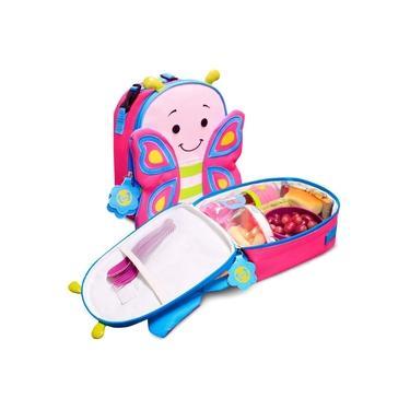 Lancheira Térmica Infantil Comtac Let's GO - Borboleta Cindy