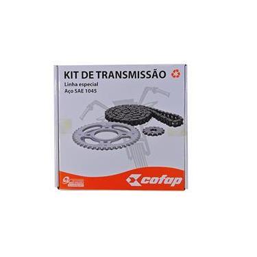 Imagem de Kit Relação Transmissão Cofap Honda Xre 300 - Corrente Coroa E Pinhão