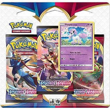Imagem de Pokémon Ee1 Blister Triplo - Espada E Escudo, Copag