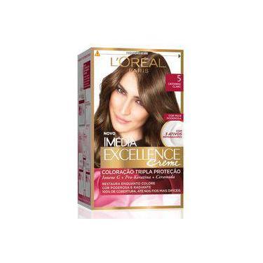 Kit Tintura Imédia Excellence L'Oréal Castanho Claro 5
