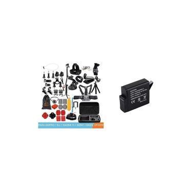 Kit Com Acessórios Completo Para GoPro Hero Com Bateria Para Gopro Hero 5 6 7 Black 4K Sports
