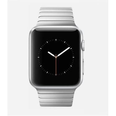 Pulseira Para Relógio Apple Watch Series 3/2/1 Elos Aço Inox 42mm (Prata)