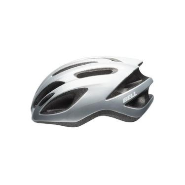 Imagem de Capacete Ciclismo Bike Bell Crest R Mtb Cinza Prata Branco