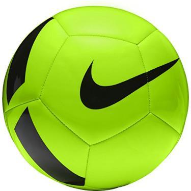 Bola Campo Nike Pitch Team - Verde Limão