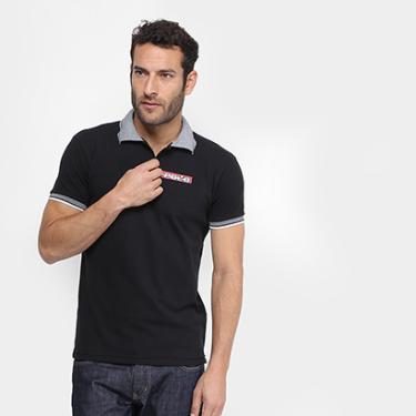 Camisa Polo RG 518 Estampa Relevo Masculina - Masculino 70ca5ed65d61b