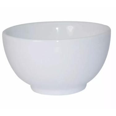 Imagem de Tigela Cumbuca Japonesa Porcelana Branca 500 Ml