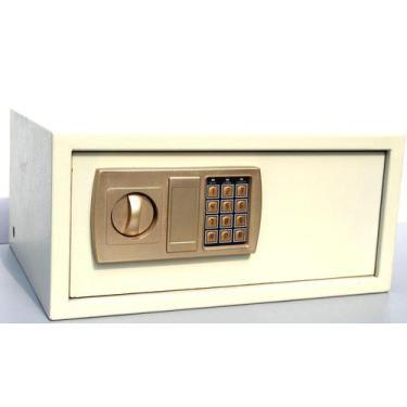 Imagem de Cofre Eletrônico Digital Aço Com 2 Chaves De Segurança 43Eda - Teem
