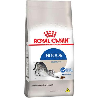 Ração Royal Canin Cat Indoor para Gatos Adultos - 1,5 Kg