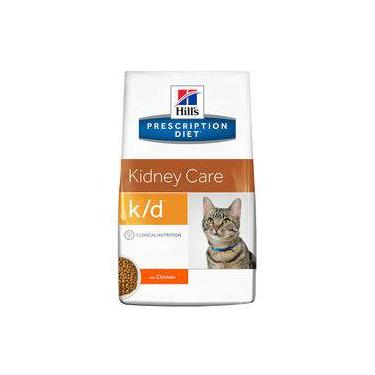 Ração Hill's Prescription Diet K/d Cuidado Renal Para Gatos Adultos Com Doença Renal - 1,8kg