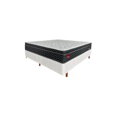 Imagem de Conjunto Box Casal Colchão Mannes Move 28cm Ens e Box Comfort 1,38 x 1,88 m