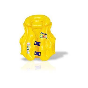 Colete Salva-vidas Inflável Infantil Premium - Mor