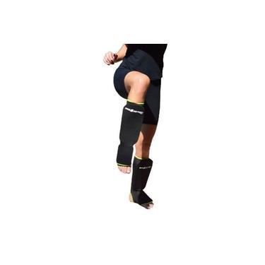 Caneleira de Elastano - Oficial Kickboxing - Pro Action -