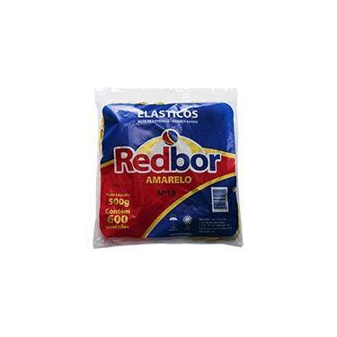 Elástico amarelo n.18 c/ 600 unidades REA02 Red Bor PT 1 UN