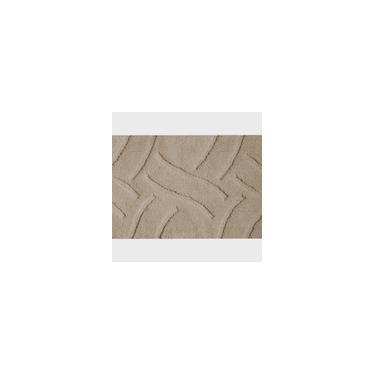 Imagem de Tapete De Banheiro Microfibra Base Látex Antiderrapante Vizapi Luxury 50X80Cm Bege