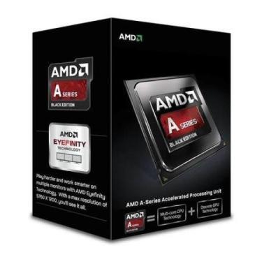 PROCESSADOR AMD 4 GHZ ELITE QUAD CORE SOCKET FM2+ 8GPU C/ COOLER BOX