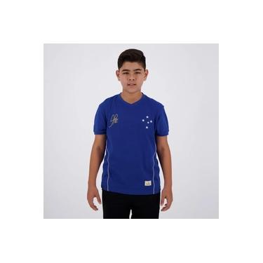 Camisa Cruzeiro Retrô Copa do Brasil Alex 2003 Juvenil