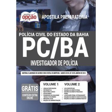 Imagem de Apostila Polícia Civil Da Bahia - Investigador De Polícia