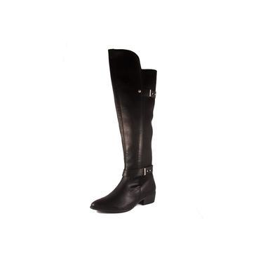 Bota Feminina Via Marte Over Knee Ref: 19-201 Napa Lira