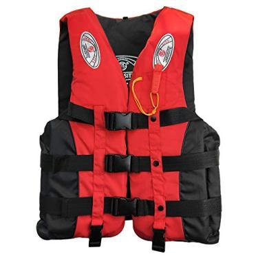 Imagem de Colete salva-vidas de pesca Esportes aquáticos Colete flutuante Adultos Crianças Colete flutuabilidade