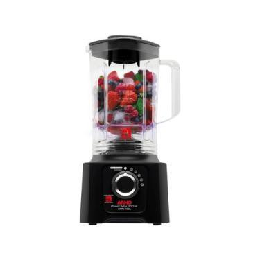 Imagem de Liquidificador Arno Power Max 700 Ln60 Preto - 5 Velocidades 700W