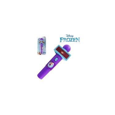 Imagem de Microfone Musical Infantil A Pilha Frozen 7925707
