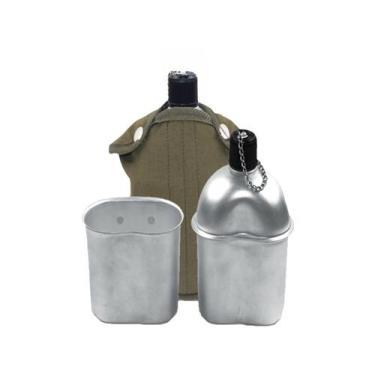 Cantil de Alumínio Echolife CF006 900ml com Copo - com Capa