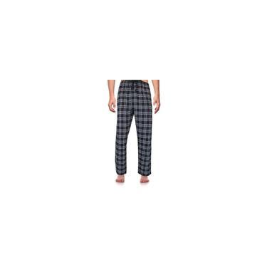 Calças de pijama compridas moda masculina verão casual impressão xadrez com cordão