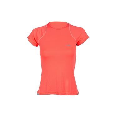 Camiseta manga curta feminino uv dry moving