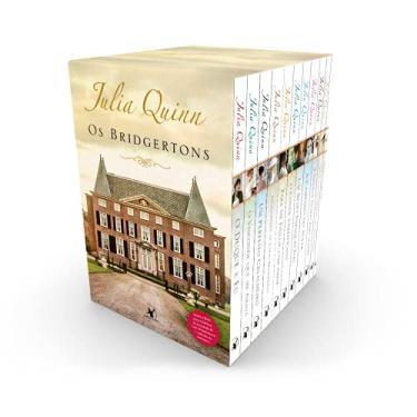 Imagem de Box Os Bridgertons: 9 títulos da série + livro extra de crônicas + caderno de anotações