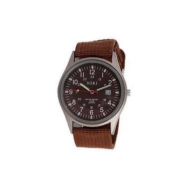 32d1fc602c2 Relógio de Pulso Unissex Resistente a àgua Americanas