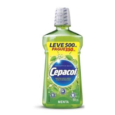 Antisséptico Bucal Cepacol Menta 500ml