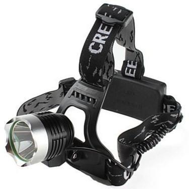 Lanterna De Cabeça T6 Led Cree Tatica Profissional Com Zoom Carregador Veicular