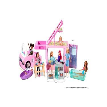 Imagem de Playset - Barbie - Trailer dos Sonhos 3 em 1 - Mattel