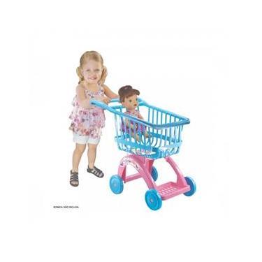Imagem de Carrinho De Compras Supermercado Baby Alive - Líder