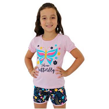 Kit 3 Conjunto Infantil Roupa Menina Feminino Barato Bebe (1)