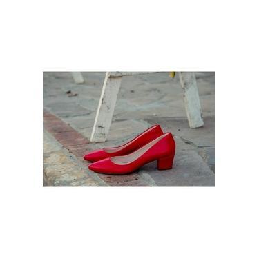 Scarpin Numeração Especial Vermelho Cereja DME1941001