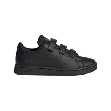 Tênis Adidas Advantage C Infantil Preto  unissex