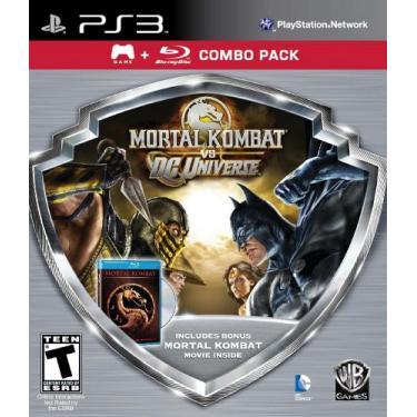 Mortal Kombat Vs DC Game/Mortal Kombat Movie Blura