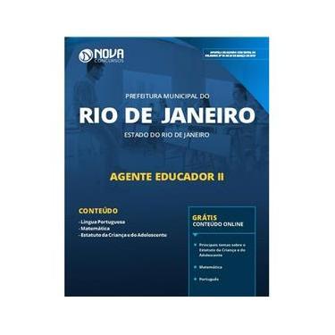 Imagem de Apostila Prefeitura Rio de JaneiroRJ 2019 Agente Educador II