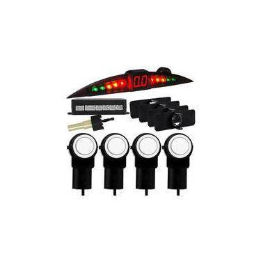 Sensor de Ré Estacionamento 4 Pontos Branco OEM Original